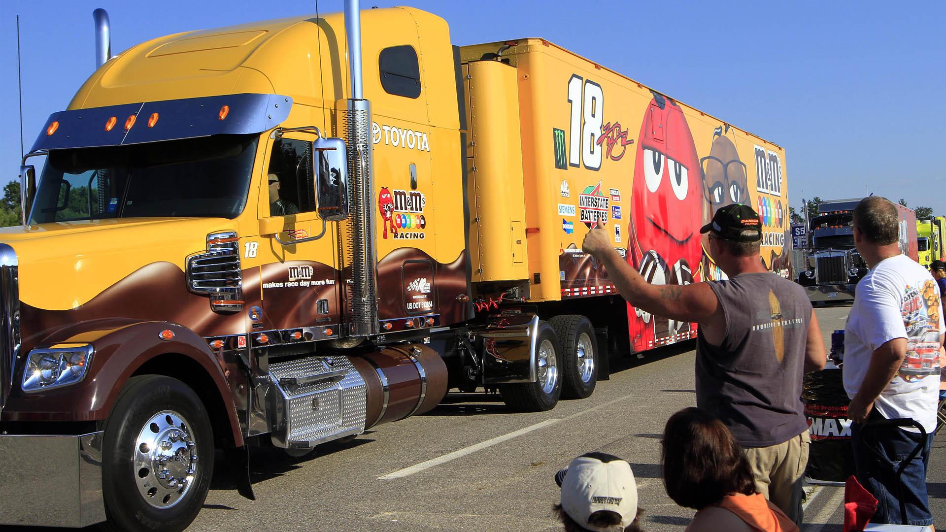 Worst job in NASCAR: Driving team hauler | Sporting News