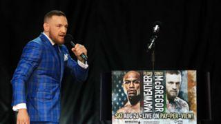 McGregor-Mayweather