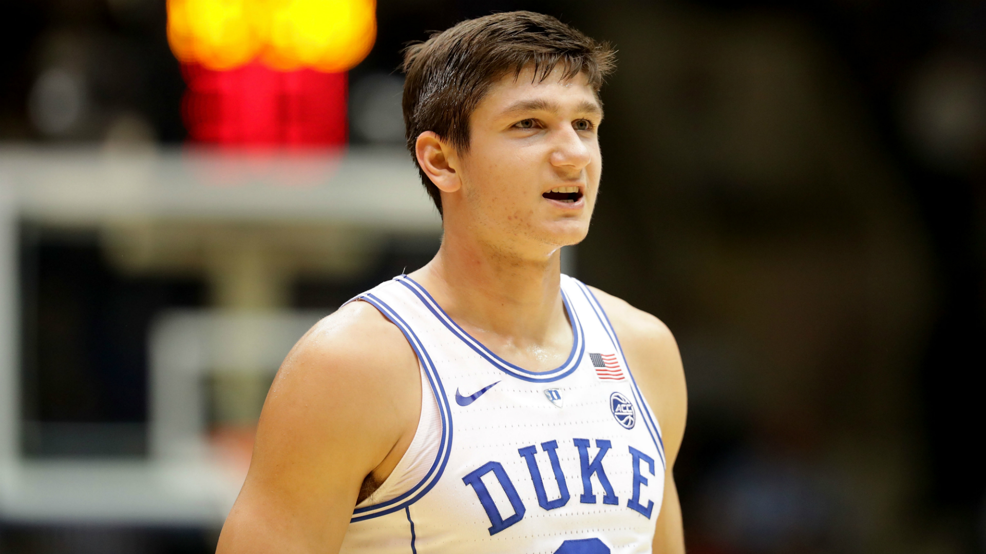 Here's how Duke's Grayson Allen received a black eye vs. Boston College