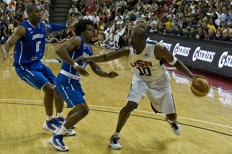 Kobe Bryant USA Basketball FIBA