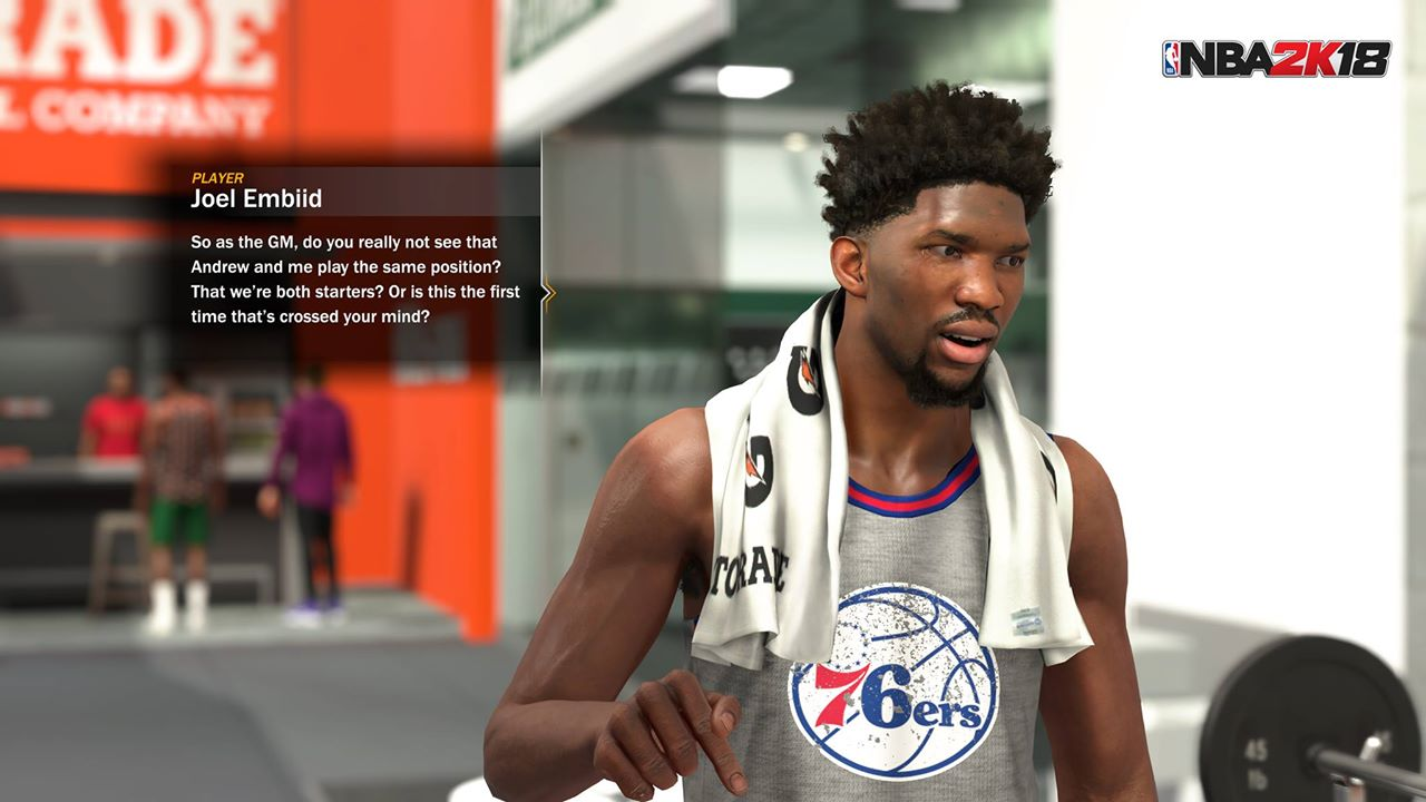 NBA 2K18' will let you play through a story as a general