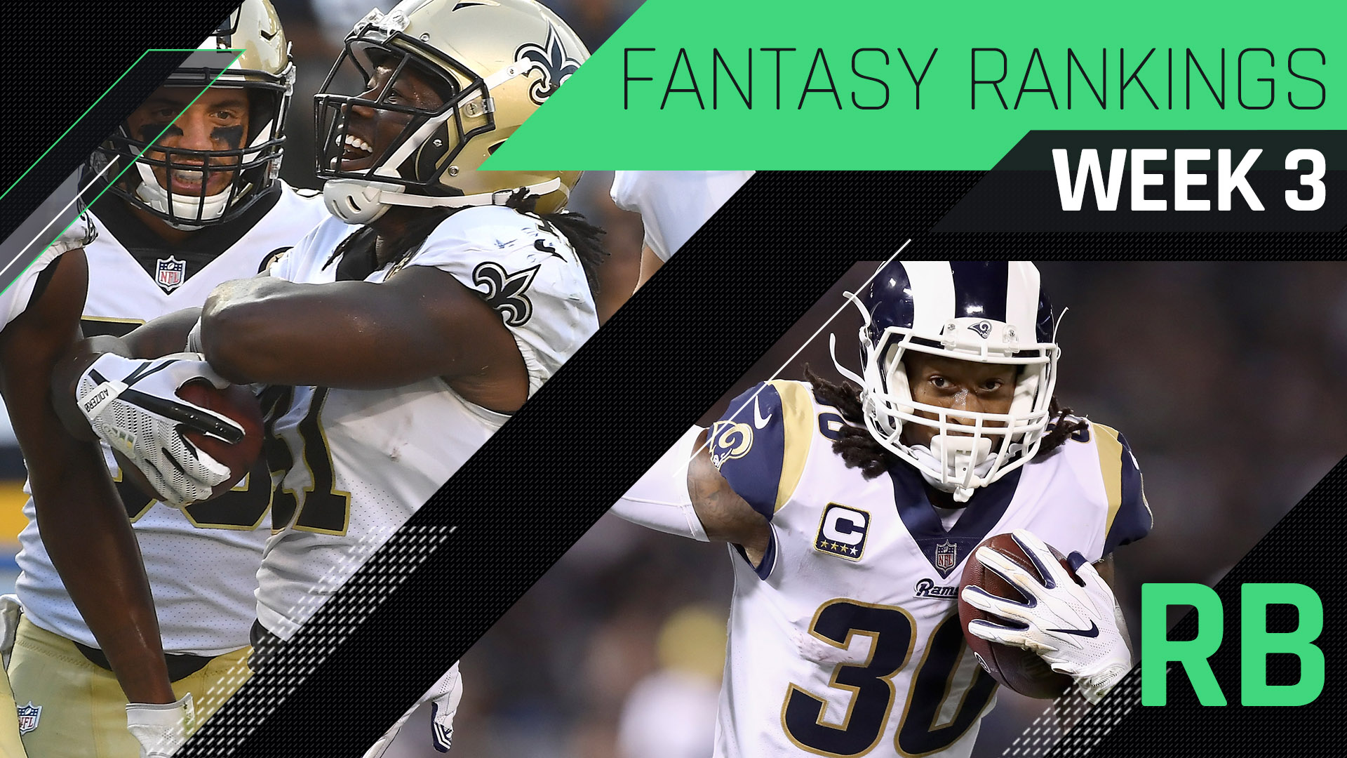 Week 3 Fantasy Rankings: Running back