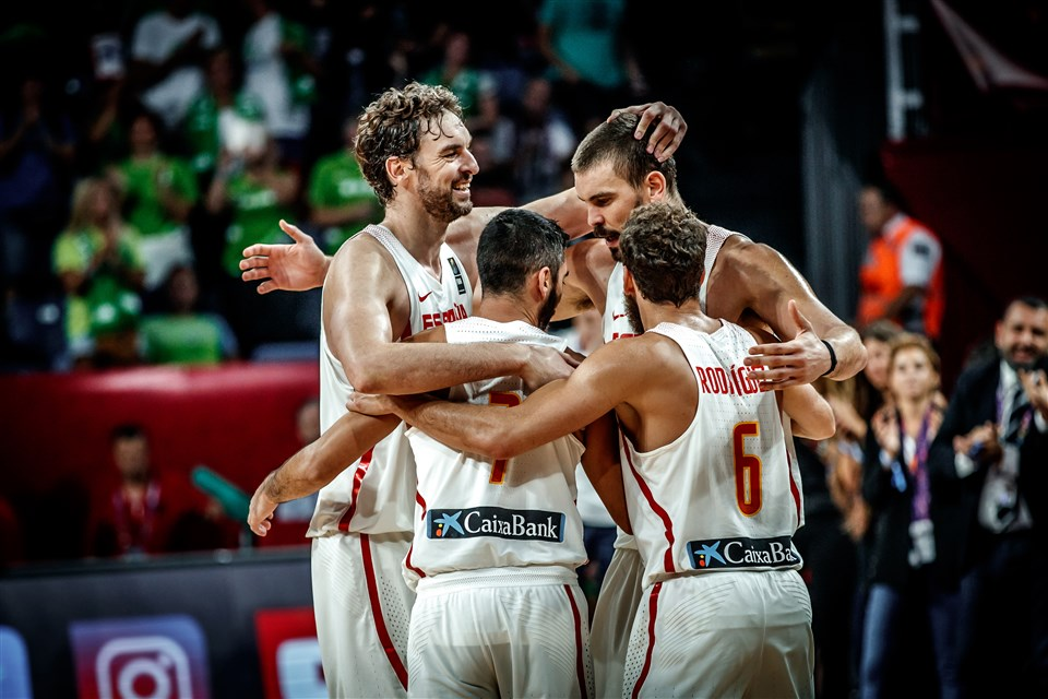 Spain's Marc Gasol excited to be carrying NBA title success into World Cup