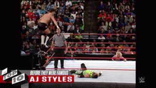 WWE 無名時代 スーパースター AJスタイルズ