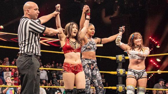 WWE, NXT, #491, 紫雷イオがシェイナ・ベイズラー撃破