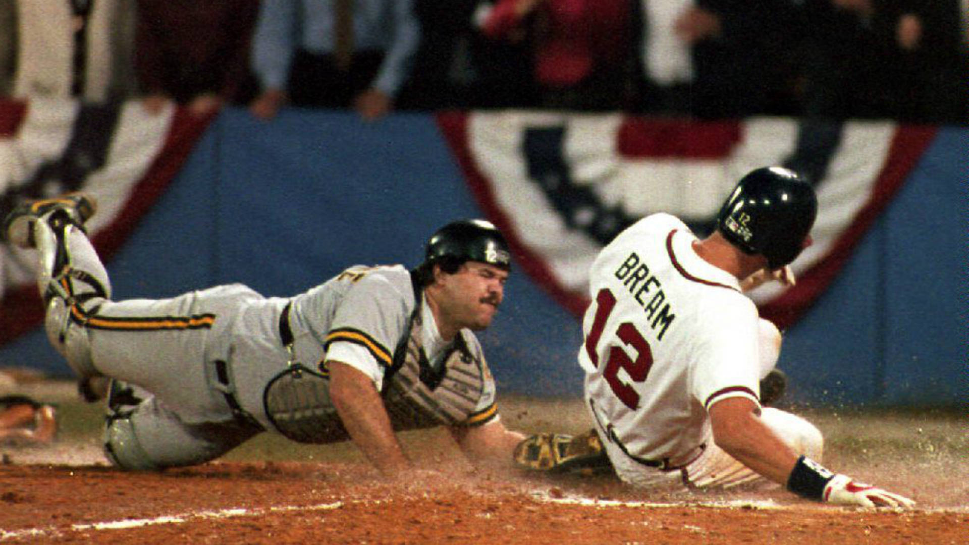 'I ran as hard as I could': A story you've never heard about Game 7 of the 1992 NLCS