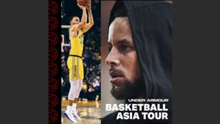 Under Armour Asia Tour 2019 Stephen Curry