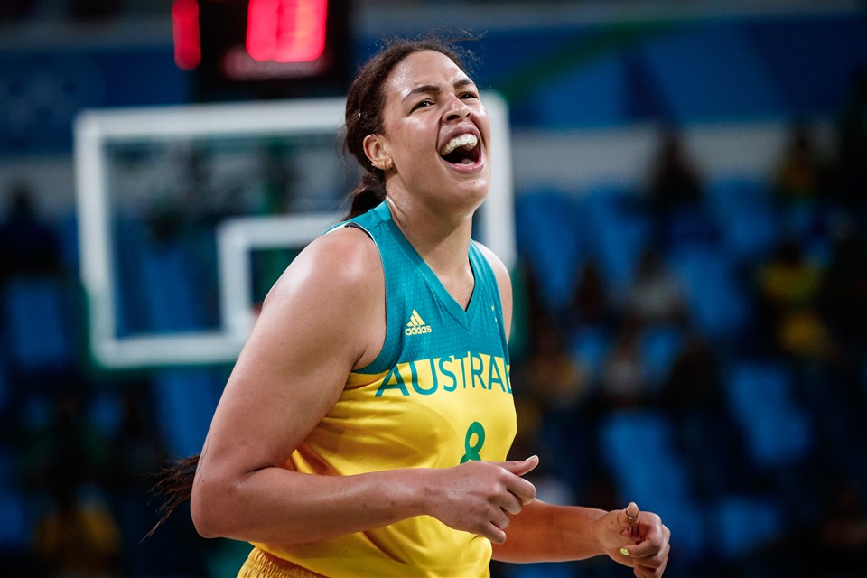 Liz Cambage Australia FIBA