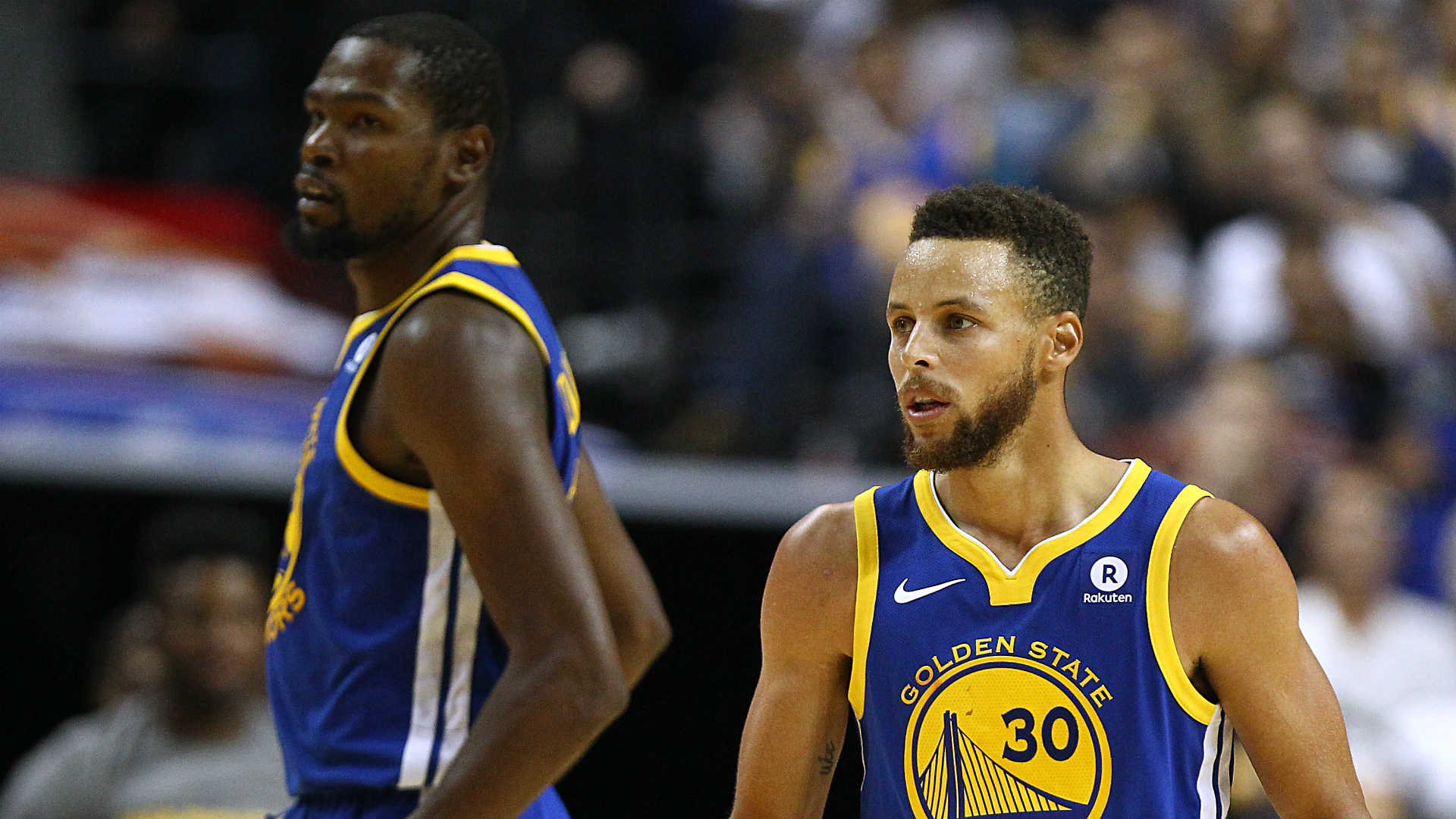 Stephen Curry injury, Kevin Durant ejection overshadow Warriors' rally vs. Pelicans