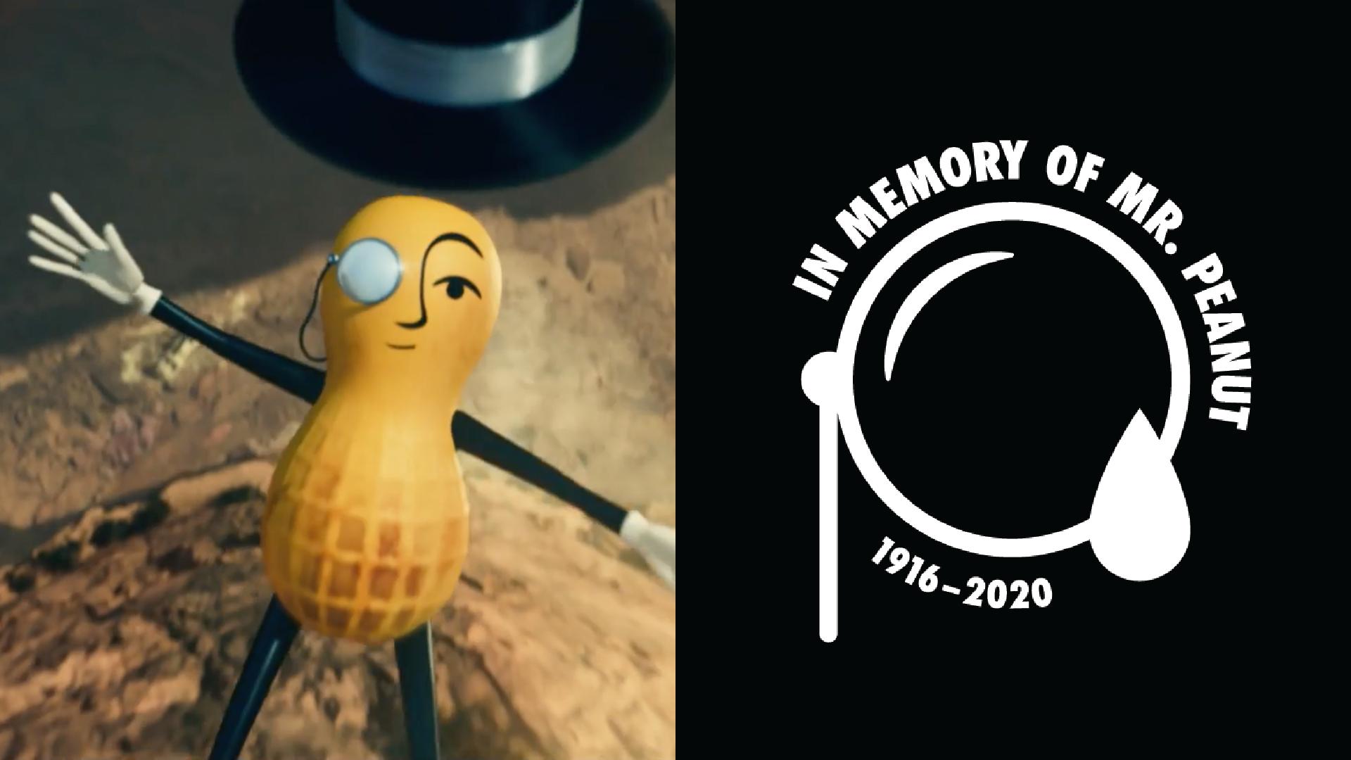 El Sr. Peanut ha muerto y su funeral se transmitirá durante el Super Bowl 2