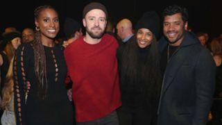 Issa Rae, Justin Timberlake, Ciara, Russell Wilson