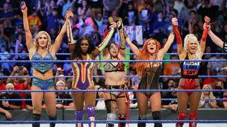 WWE スマックダウン #982 アスカ 女子王座