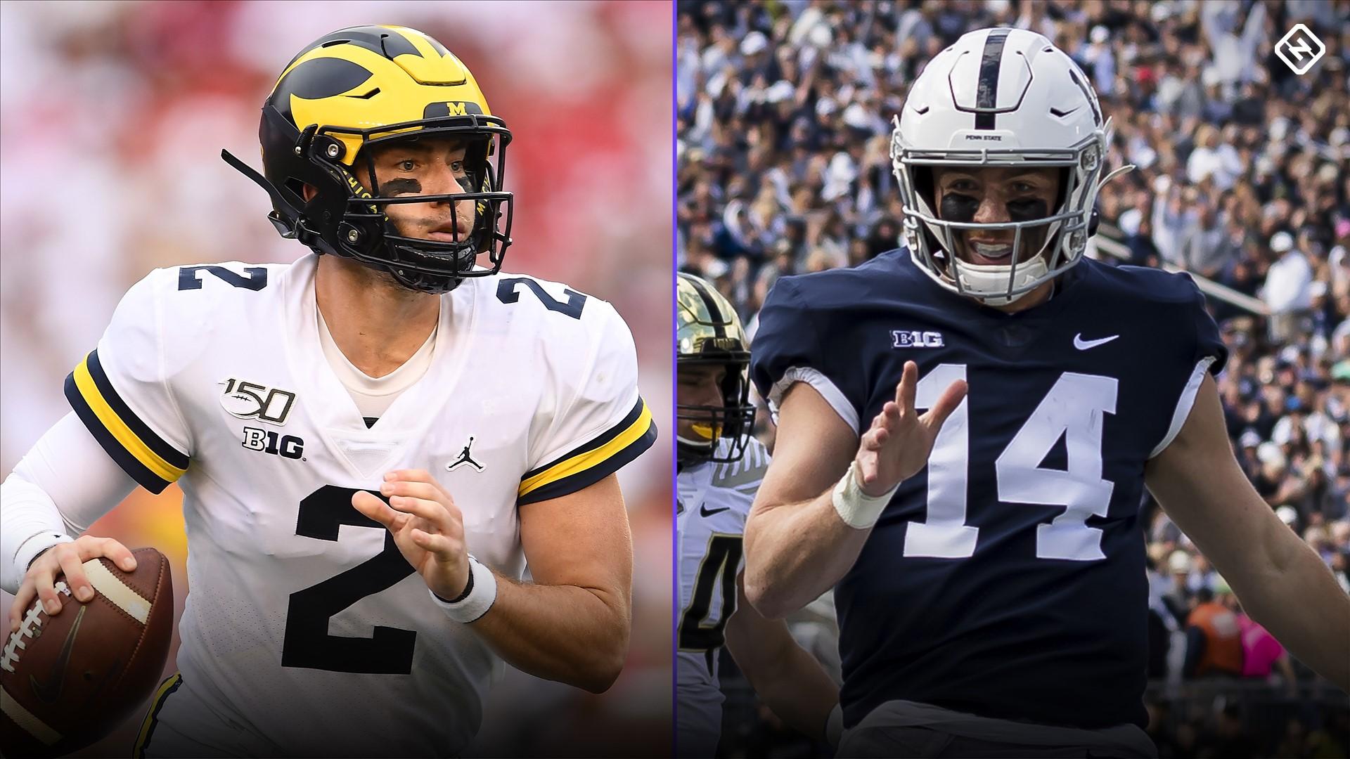 College football picks, Week 8: Michigan, Penn State jockey for position in Big Ten East