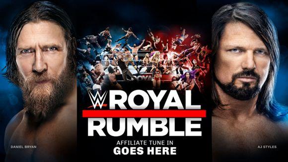 WWE, PPV, ロイヤルランブル, 2019, ヘッダー