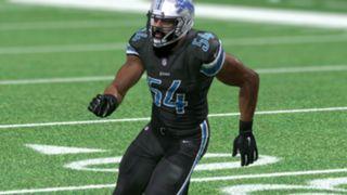 Color Rush Detroit Lions Madden NFL 17