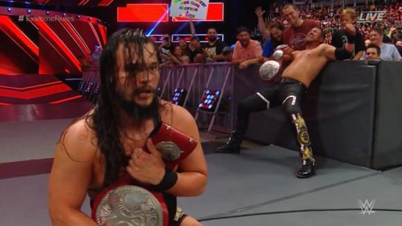 WWE PPV エクストリーム・ルールズ ロウタッグ王座