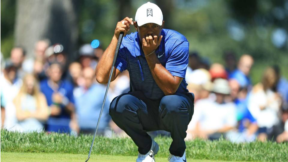 Tiger Woods' score, live updates from Round 2 of The Northern Trust