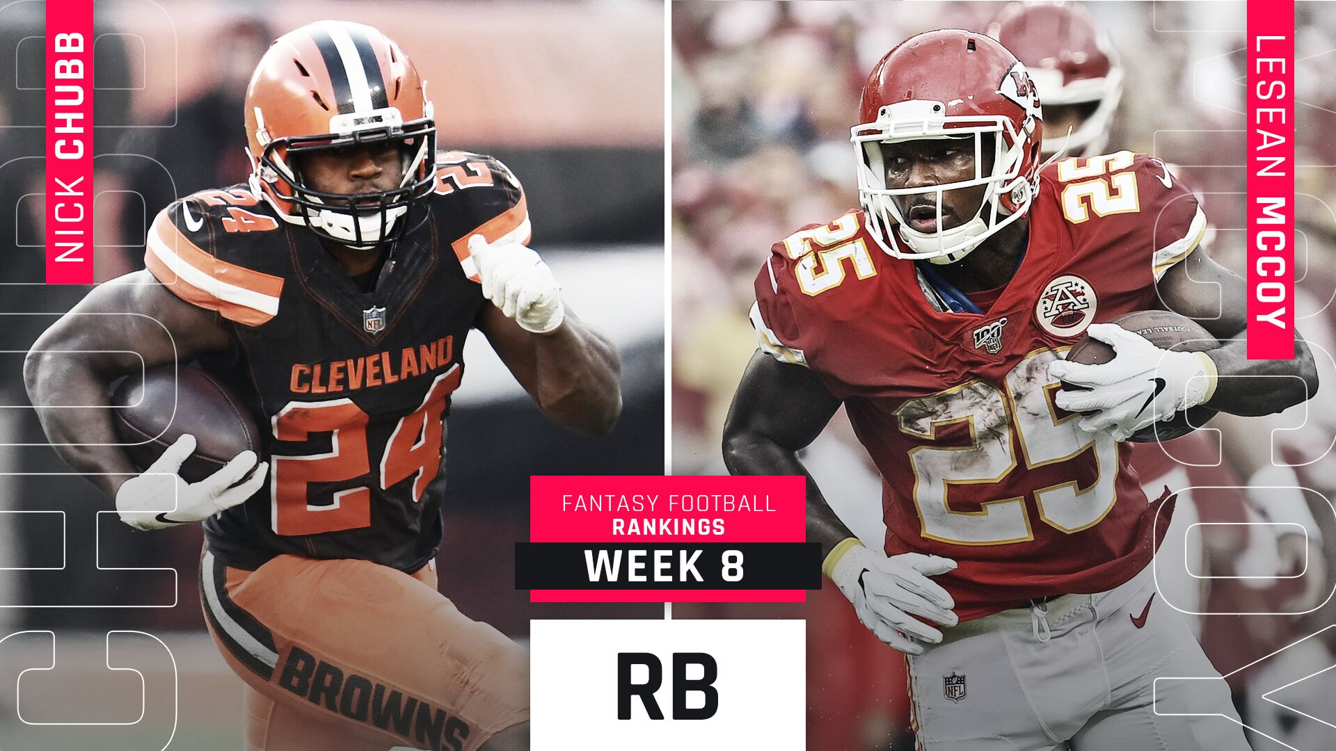 Week 8 Fantasy RB Rankings: Injuries to Alvin Kamara, David Johnson, Kerryon Johnson create questions -- and opportunities