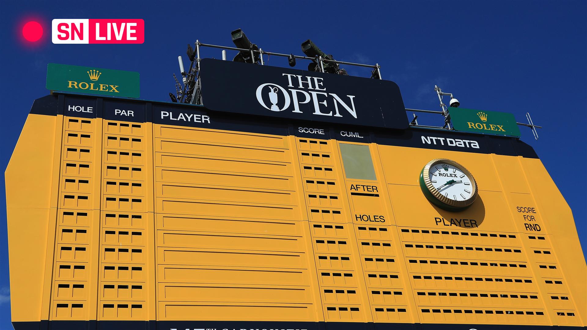 british open 2019 leaderboard  live golf scores  results