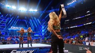 WWE スマックダウン #990 カーメラ シャーロット ベッキー
