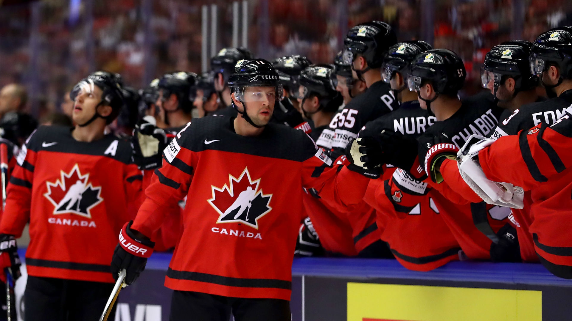 a3330791e99 IIHF World Championship 2018  McDavid leads Canada to 7-1 rout over Denmark