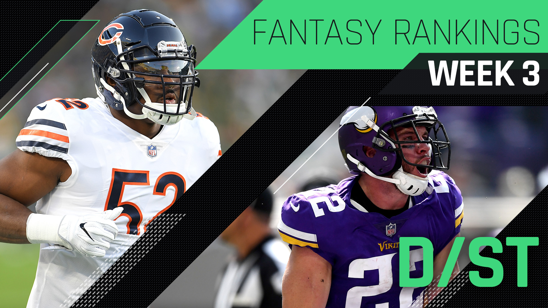 Week 3 Fantasy Football Rankings: Defense