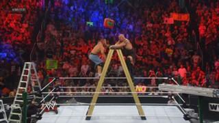 WWE マネー・イン・ザ・バンク 2012 特大ラダー ビッグ・ショー ジョン・シナ