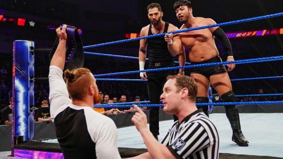 WWE, 205LIVE, #113, ヒデオが三つ巴前哨戦を制し、王者マーフィーに奪取をアピール