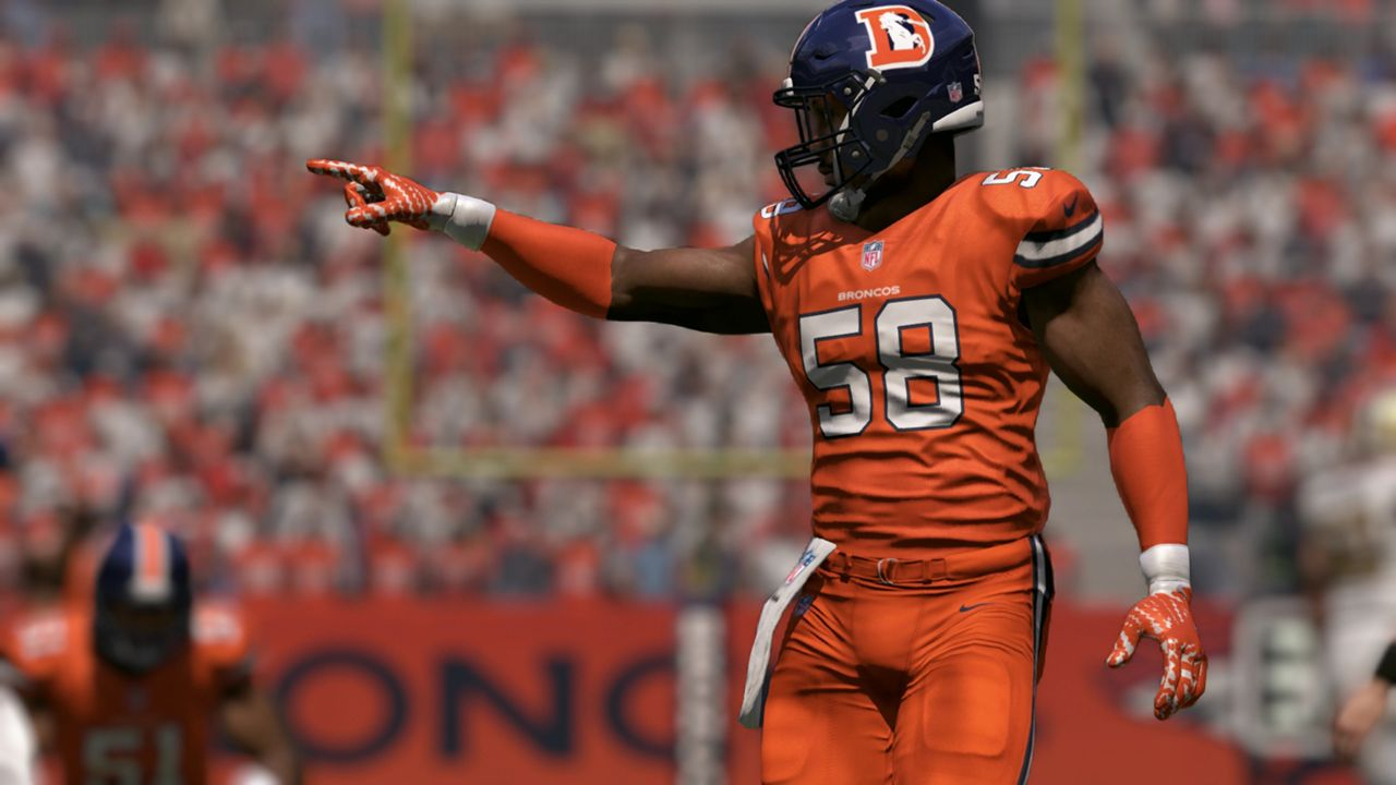 on sale 9ff86 10b61 Check out every team's Color Rush uniform in 'Madden NFL 17 ...