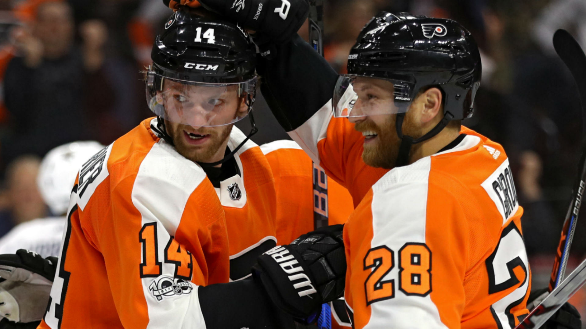 Winging it: How Flyers' top-line shakeup unleashed Sean Couturier