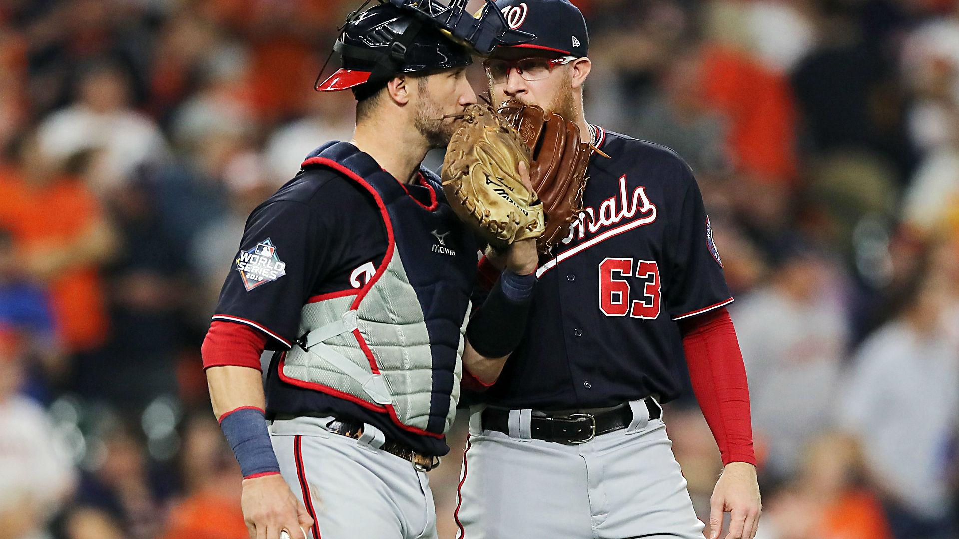 Los nacionales intentaron hacer que el robo de carteles fuera lo más difícil posible para los Astros en la Serie Mundial 2