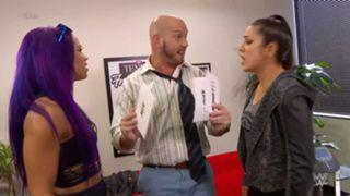 WWE ロウ #1310 サーシャ ベイリー
