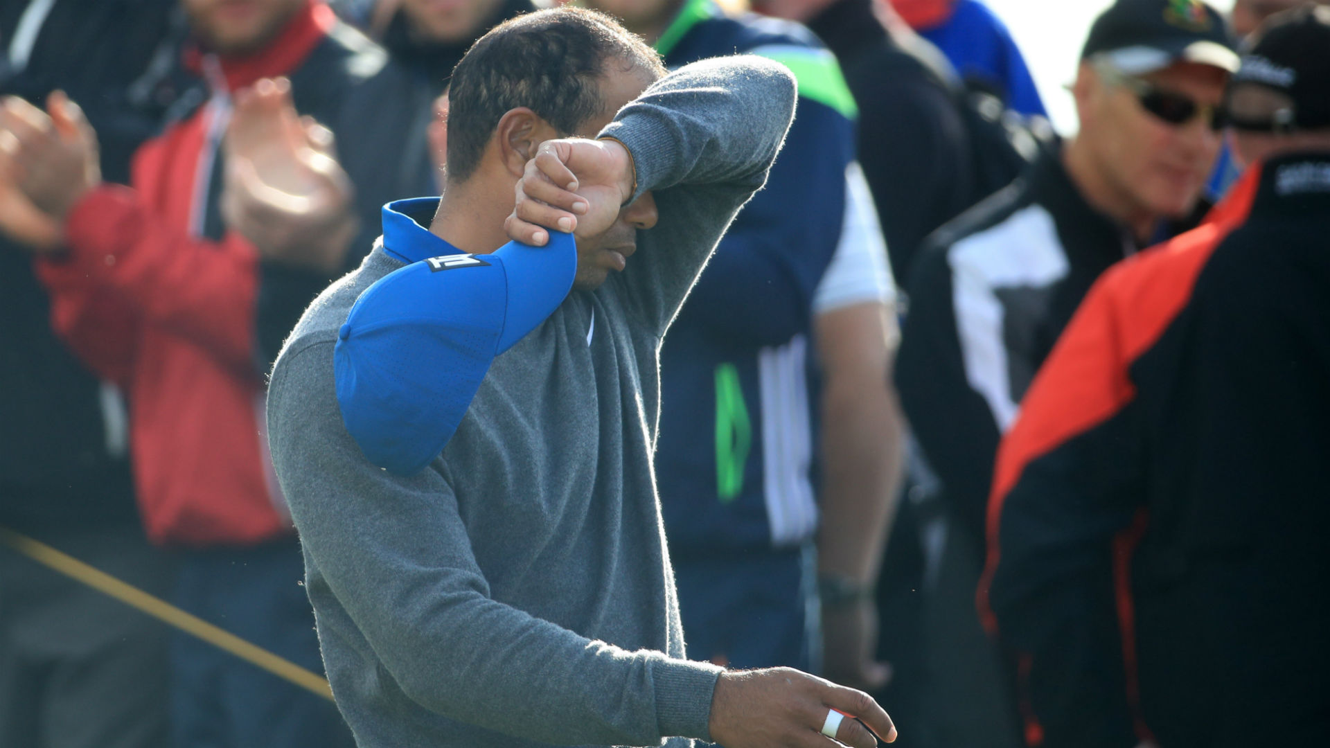 tiger woods u2019 score  round 1 results  highlights from 2019 british open