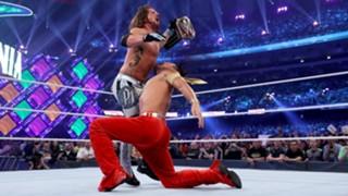 WWE 中邑真輔 レッスルマニア34 王座 挑戦 日本人 AJ