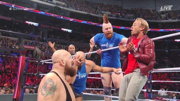 WWE, PPV, サバイバー・シリーズ, タッグ王者対決
