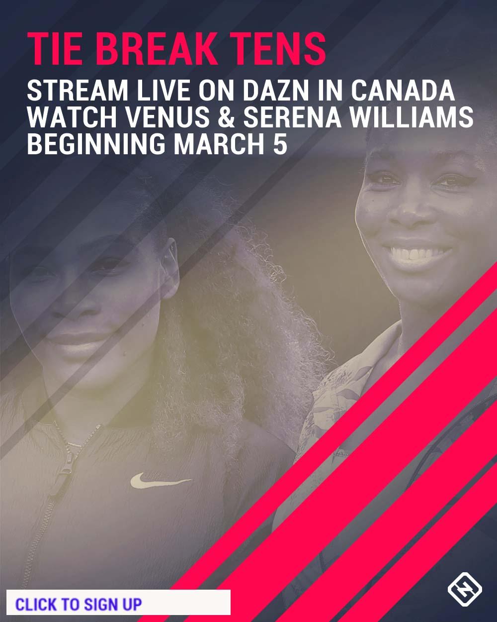 Venus and Serena graphic