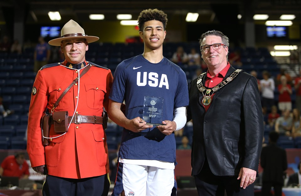 Quentin Grimes USA U18 FIBA