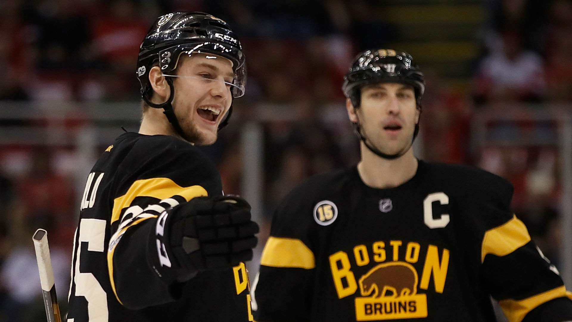 Bruins' Backes Out 3-4 Weeks With Diverticulitis