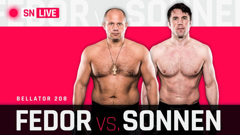 Bellator 208 Results: Fedor pounds Sonnen out in first-round TKO