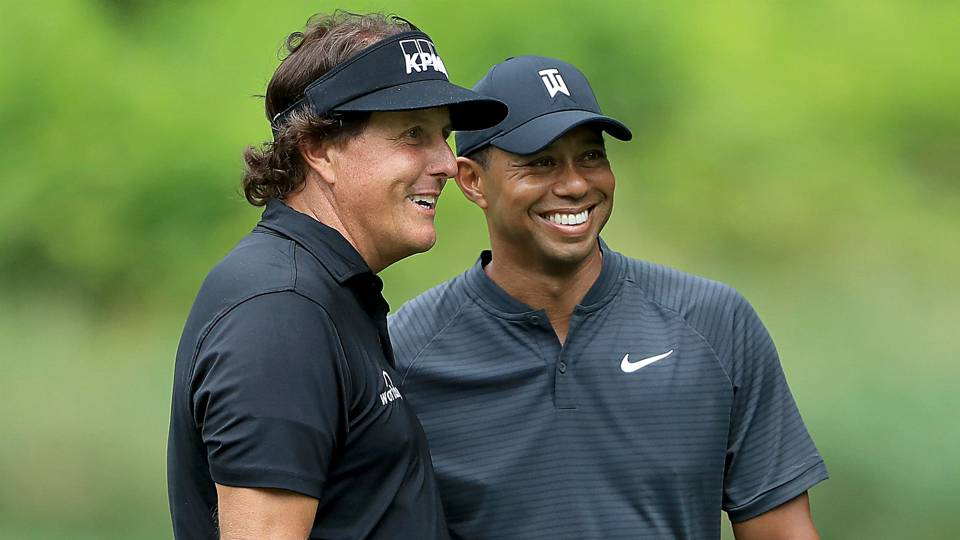 Tiger Woods vs. Phil Mickelson: Head-to-head record, all-time stats