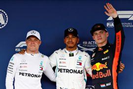 ハミルトン、日本GPポールポジション獲得 2018