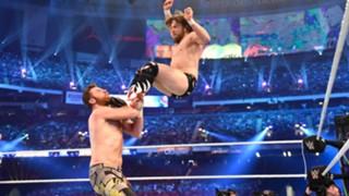 WWE レッスルマニア34 ダニエル・ブライアン 復帰戦