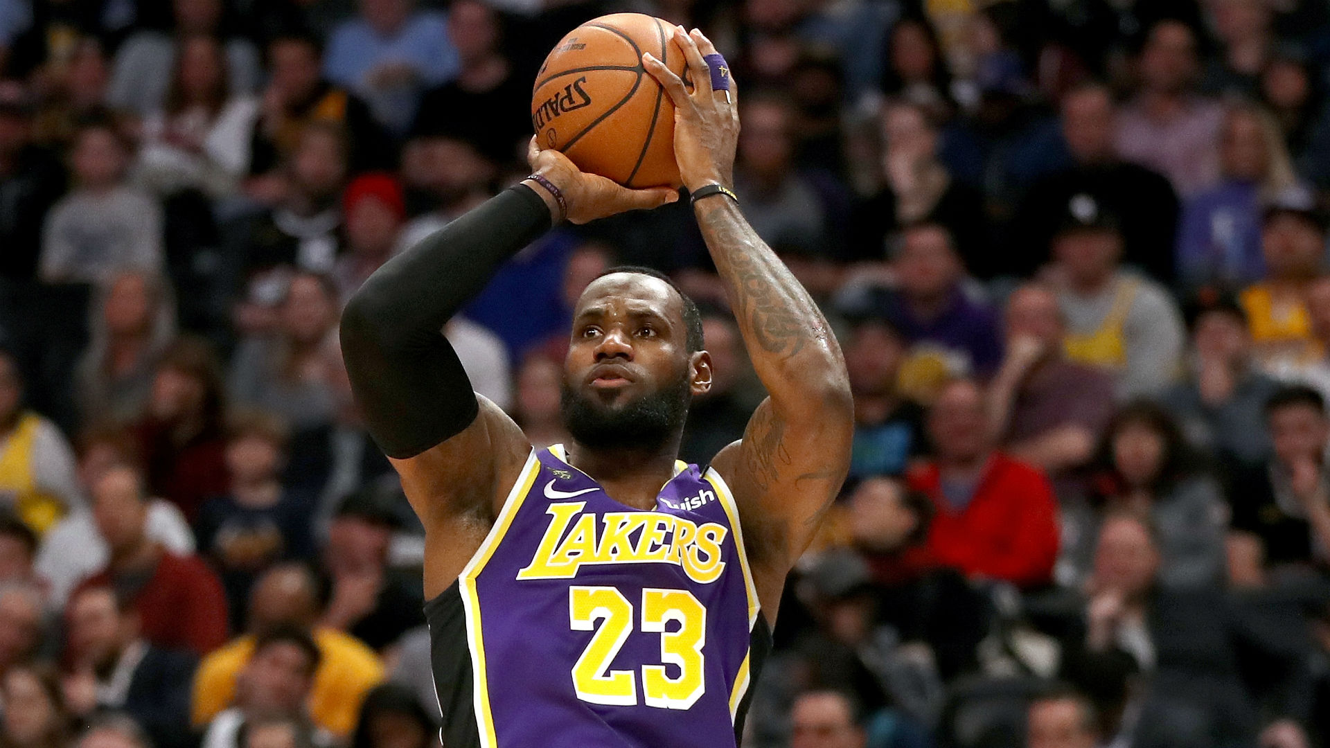 As long as LeBron James keeps hitting this magic number, the Lakers will win forever - sporting news