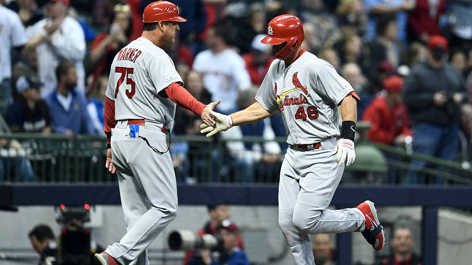 Paul Goldschmidt hits three home runs for Cardinals against Brewers