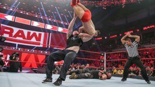 WWE, ロウ, #1339, レスナーがベイラーにF5で報復