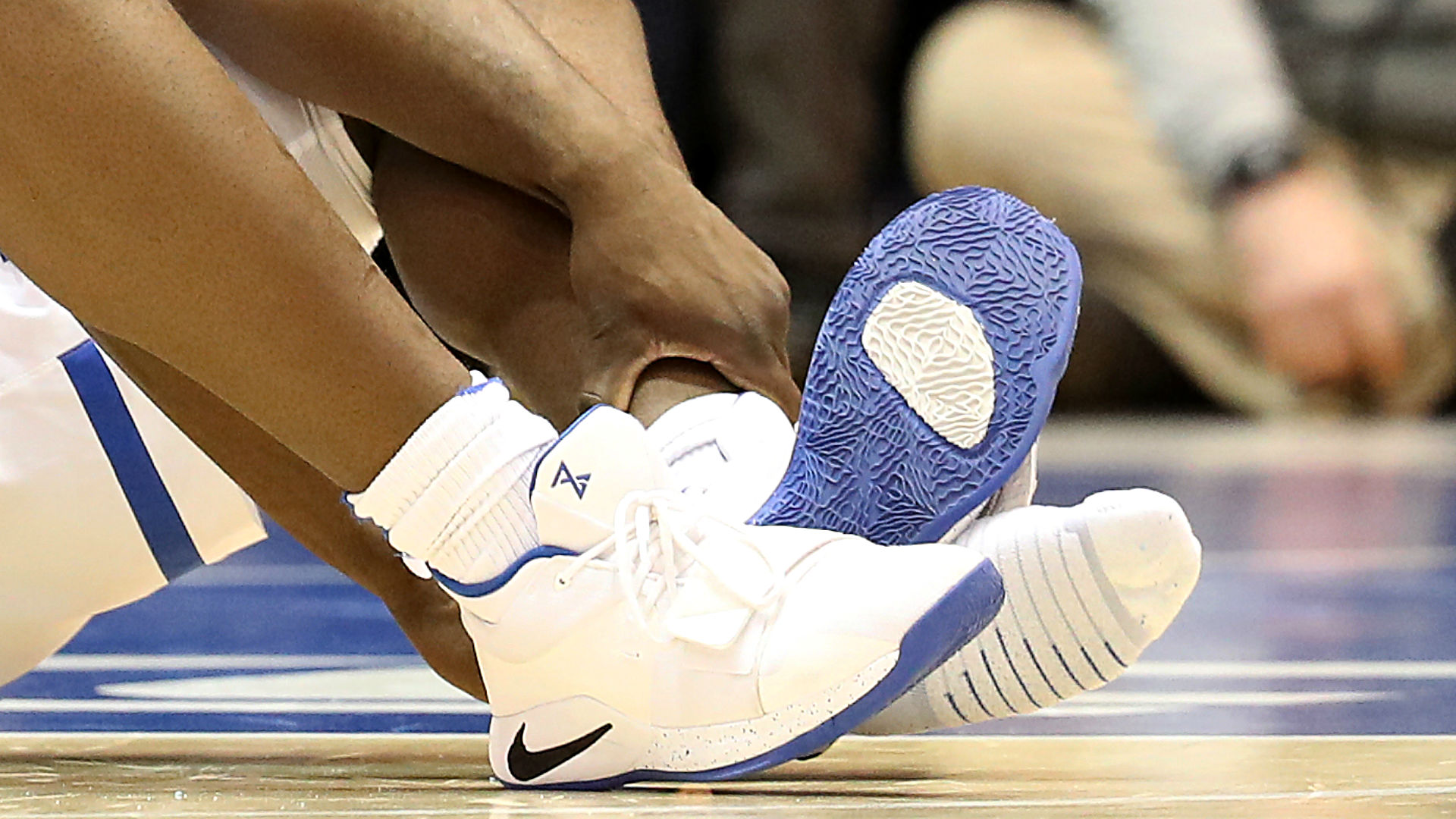 e4ff05f1dd64 Nike  concerned  after Duke s Zion Williamson rips through shoe ...