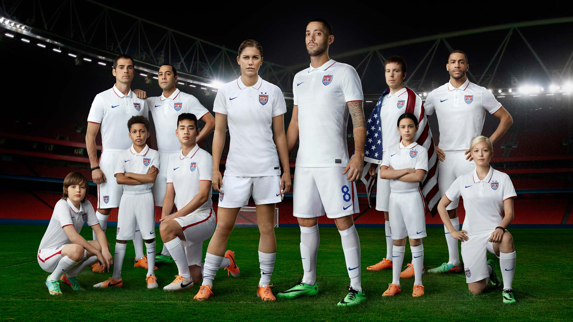 e13d4b4c3ff US Soccer gets new home kit for 2014