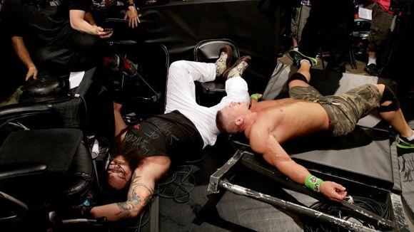 WWE ラストマン・スタンディング シナ ブレイ・ワイアット