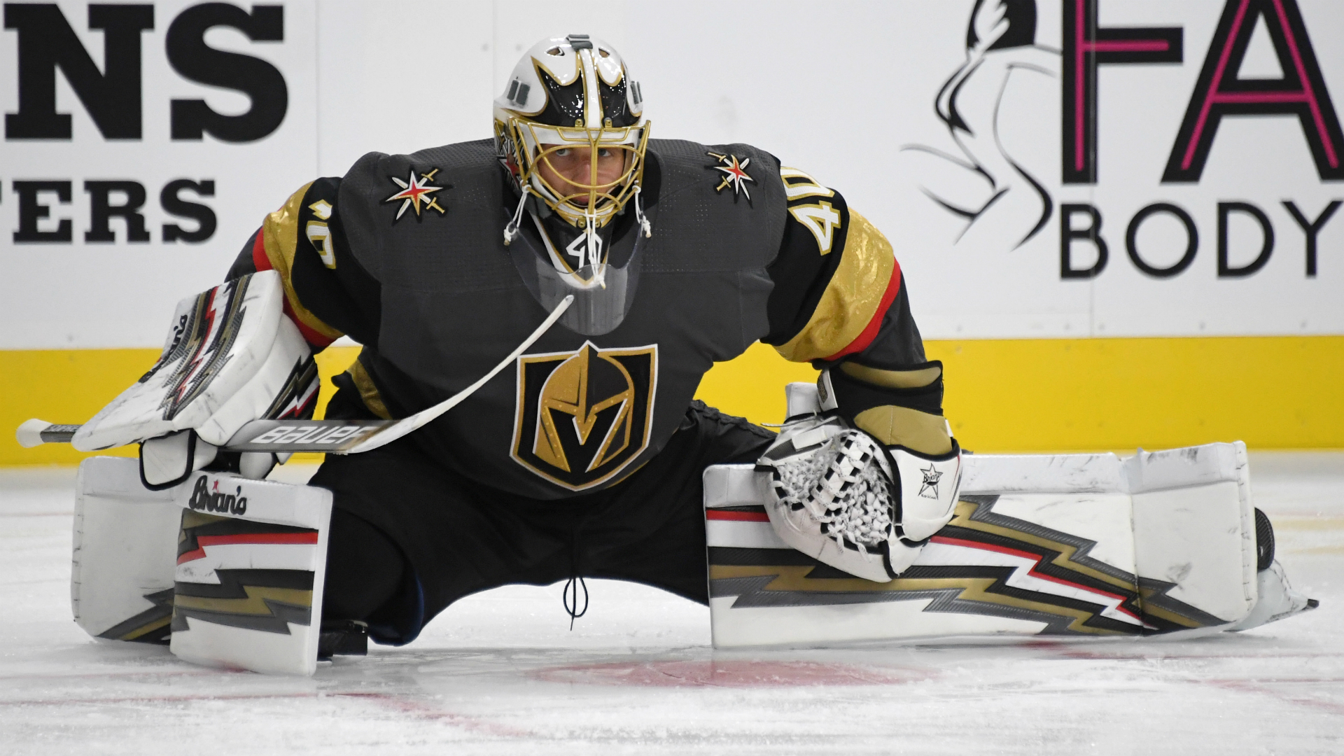 Golden Knights' Garret Sparks records shutout in preseason debut