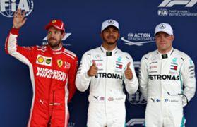 ハミルトン、ブラジルGPポールポジション獲得 2018